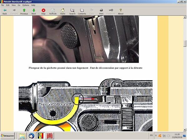 Le pistolet Borchardt modèle 1893 expliqué - ebook Im-24