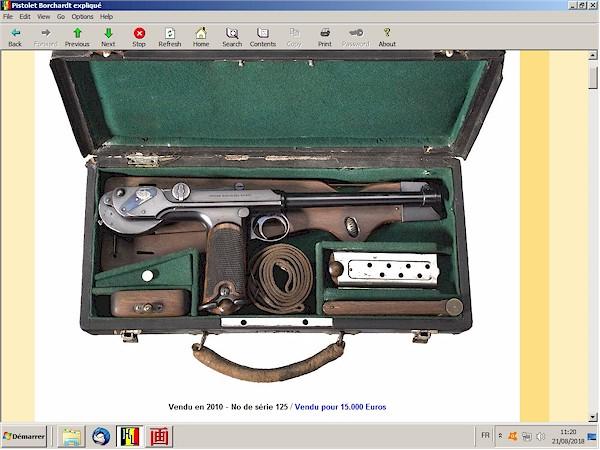 Le pistolet Borchardt modèle 1893 expliqué - ebook Im-25