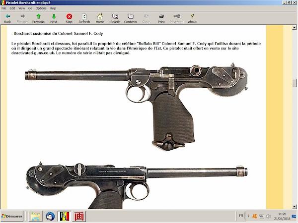 Le pistolet Borchardt modèle 1893 expliqué - ebook Im-26