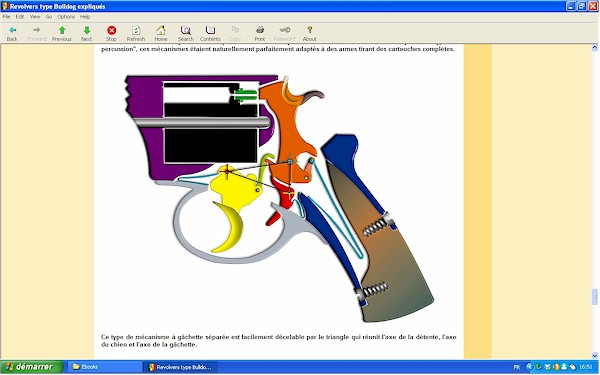 """Les revolvers de type """"Bulldog"""" expliqués - Ebook Im-01"""