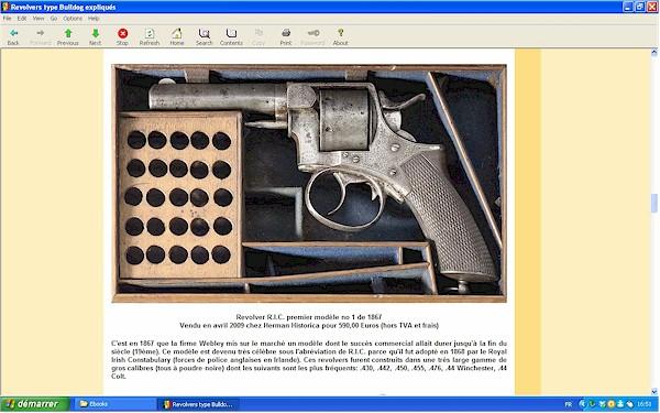 """Les revolvers de type """"Bulldog"""" expliqués - Ebook Im-02"""