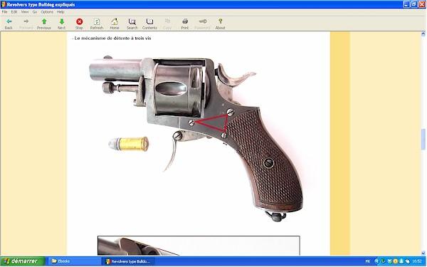 """Les revolvers de type """"Bulldog"""" expliqués - Ebook Im-04"""