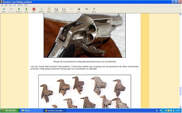 """Les revolvers de type """"Bulldog"""" expliqués - Ebook Im-16"""