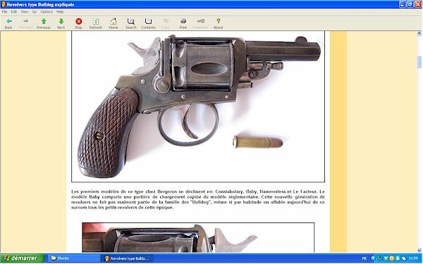 """Les revolvers de type """"Bulldog"""" expliqués - Ebook Im-17"""