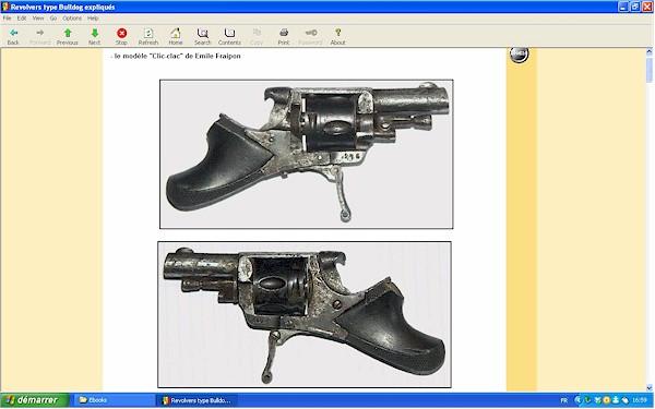 """Les revolvers de type """"Bulldog"""" expliqués - Ebook Im-18"""