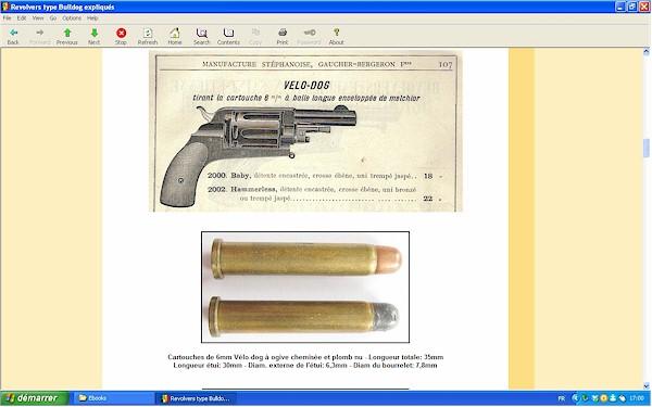 """Les revolvers de type """"Bulldog"""" expliqués - Ebook Im-19"""