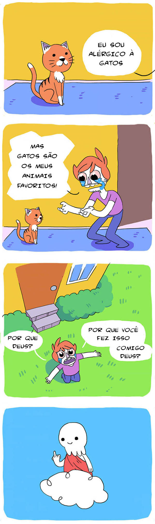 Tirinhas memes - Página 6 GATINHOS