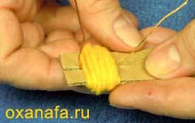 Креатив из помпонов 1299012096_mimosa-05