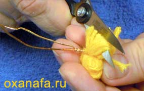 Креатив из помпонов 1299012152_mimosa-08