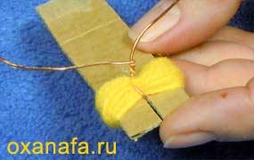 Креатив из помпонов 1299012190_mimosa-06