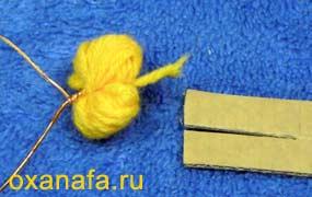 Креатив из помпонов 1299012192_mimosa-07