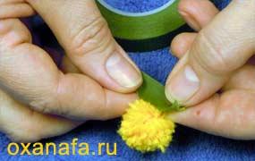 Креатив из помпонов 1299012192_mimosa-15