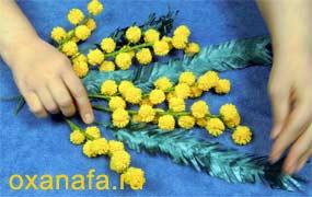 Креатив из помпонов 1299012198_mimosa-28