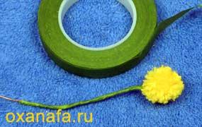 Креатив из помпонов 1299012202_mimosa-16