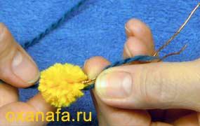 Креатив из помпонов 1299012215_mimosa-11