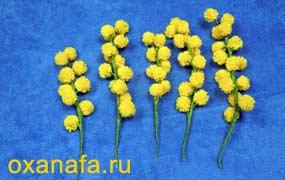 Креатив из помпонов 1299012224_mimosa-21