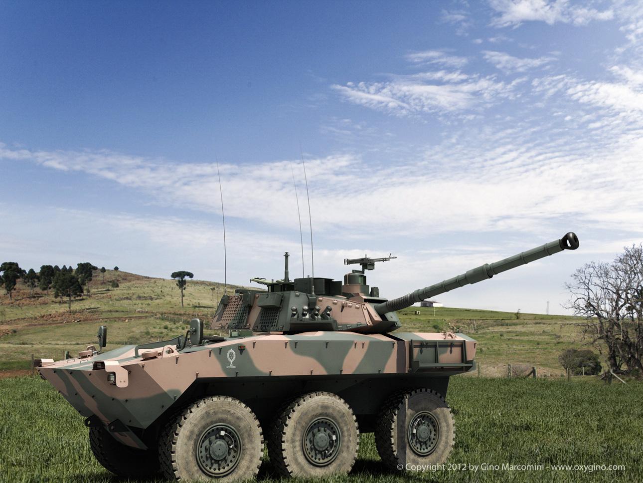 Guarani para el ejército argentino Iveco_oxygino_90mm