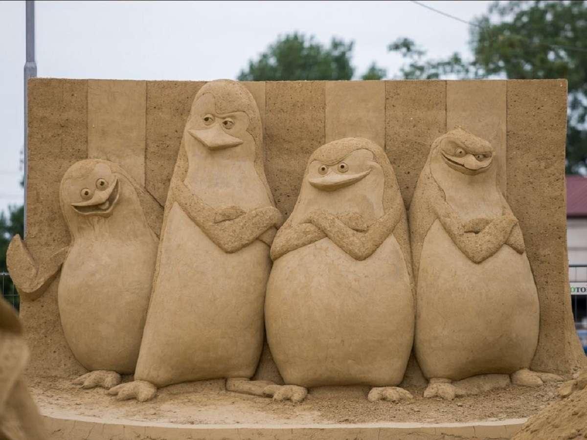 Les statues de sable  Sculpture-de-sable-