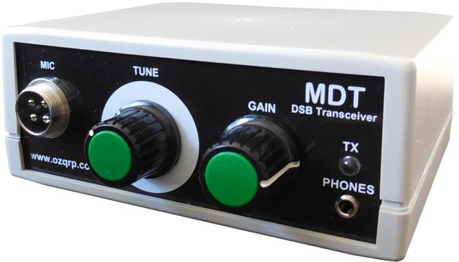 KIT émetteur récepteur QRP phonie 40m ( ozQRP ) MDT_product_page