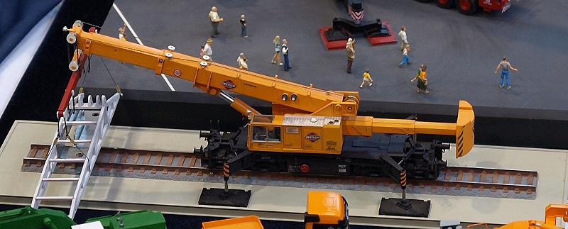Gottwald Grue Ferroviaire GS 100.06T Kibri 16000 3001-P5182939