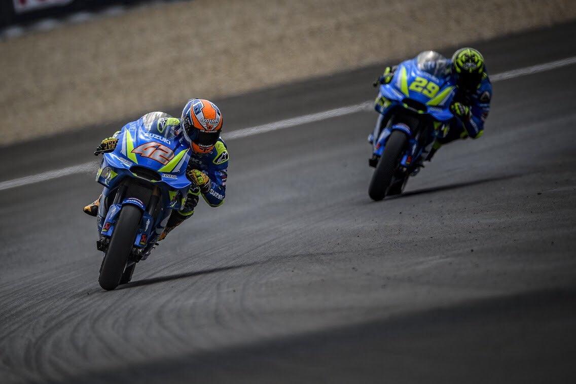 MOTO GP 2018 GRAND PRIX D'ESPAGNE 2018 Suzuki