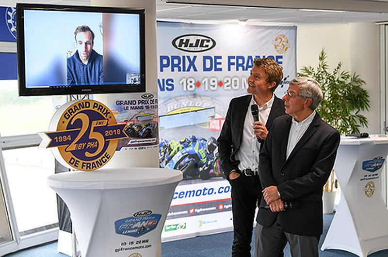 MOTO GP GRAND PRIX DE FRANCE 2018 Zarco