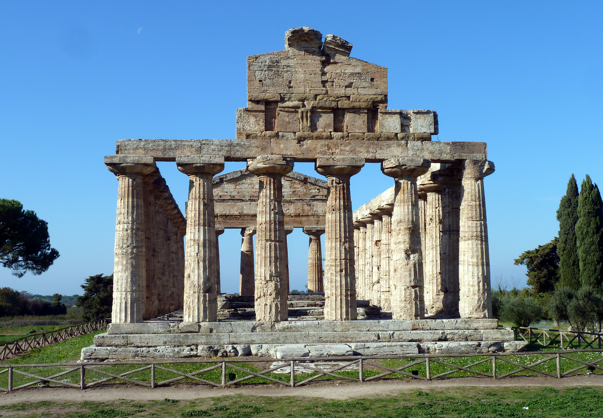 Athéné temploma Ceres-straight