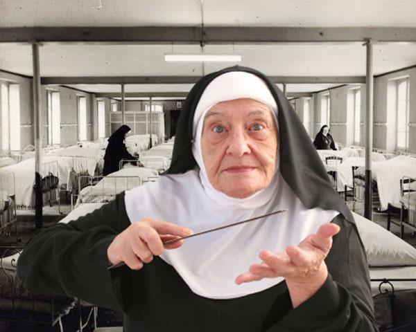 Sœur Marie Madeleine Fessee-mere-superieure