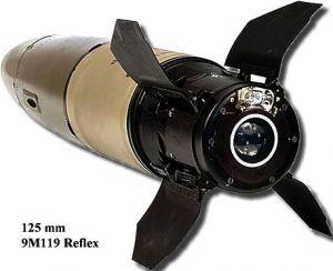الصاروخ الروسي المضاد للدبابات at-11 Normal_9m119_reflex_2
