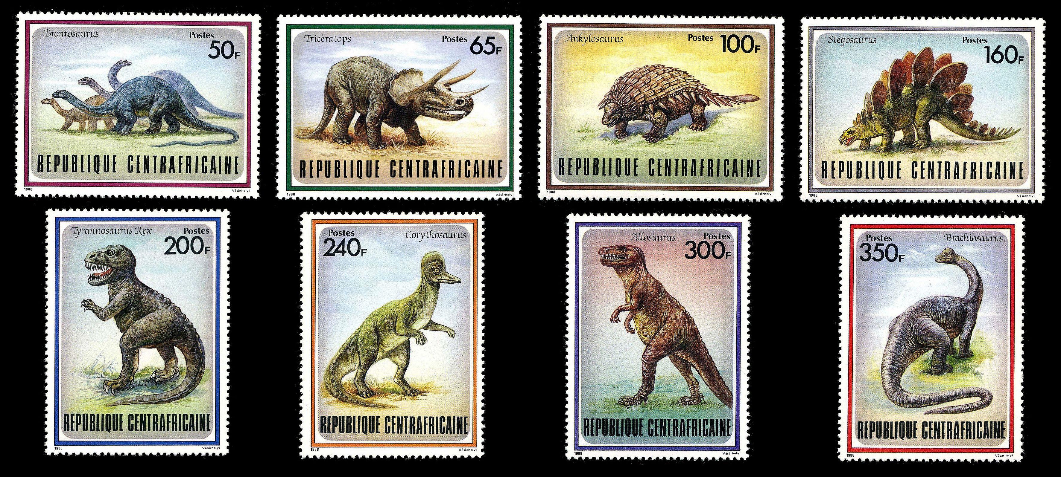 Paleophilatelie: Paläontologie und Philatelie  Car_1988