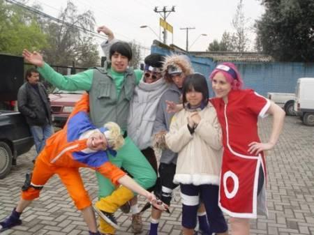 Cosplay Naruto Team