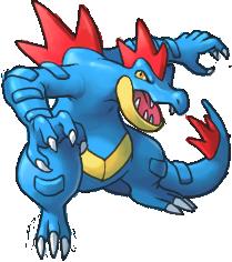 Alfabeto Pokémon Feraligatr112