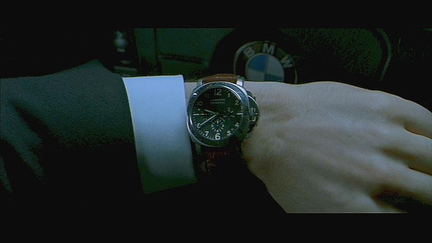 La montre de Jason Statham... Transporter1