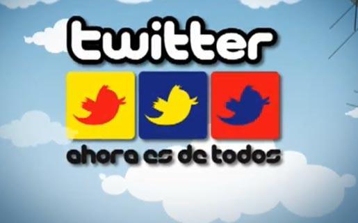 Venezuela es el decimotercer país en el mundo en uso de Twitter Twitter-chavez_515