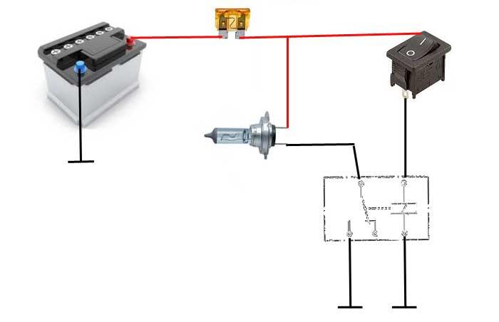 Capteur Abre came et teste relais Avec-relais