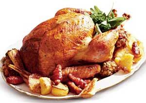 Të gjitha rrugët të çojnë te frigoriferi Christmas-turkey
