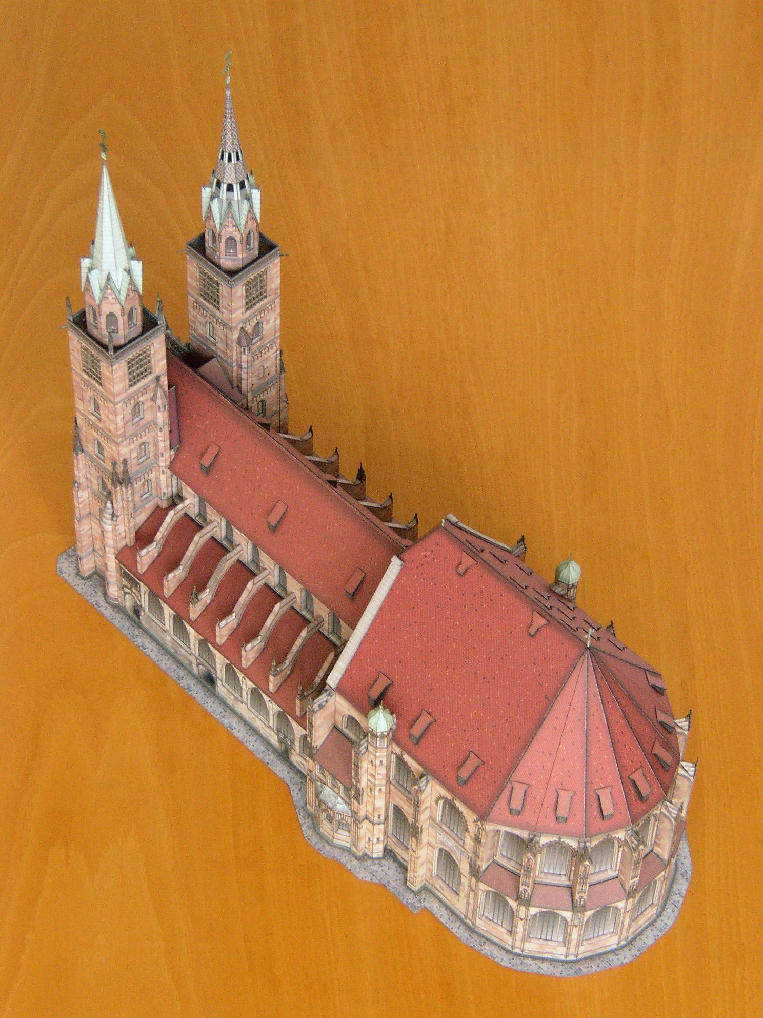 St. Lorenz/Nürnberg – Gotische Hallenchorkirche 1:250 St_Lorenz-G03