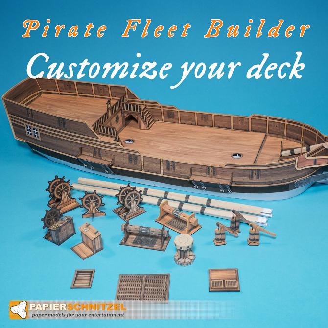 Pirate fleet builder (Papierschnitzel) PFB_CUSTOMIZE_DECK