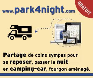 park4night : Partage de coins sympas pour se reposer en Camping-car, fourgon aménagé et van !