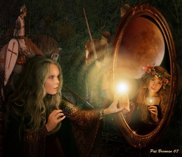 Lo specchio di Are Donna_allo_specchio