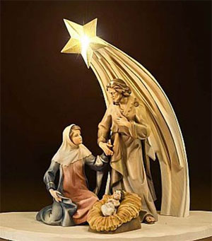 Nkauj Noel, Christmas tshiab Chreche
