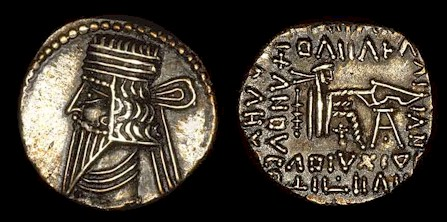 Dracma Parto Vologases III. Ecbatana Si_volo3b