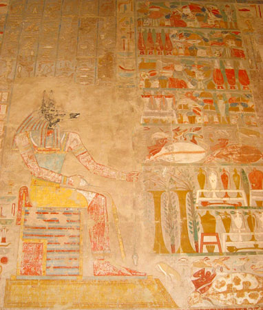 Anubis Deir-el-Bahari-Anubis