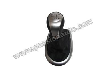 Démonter levier de vitesse pour installer pommeau chromé - Tutoriel Boxster 986 I-Moyenne-12191-levier-de-vitesse-cuir-noir-alu-logo-996-boxster-s.net
