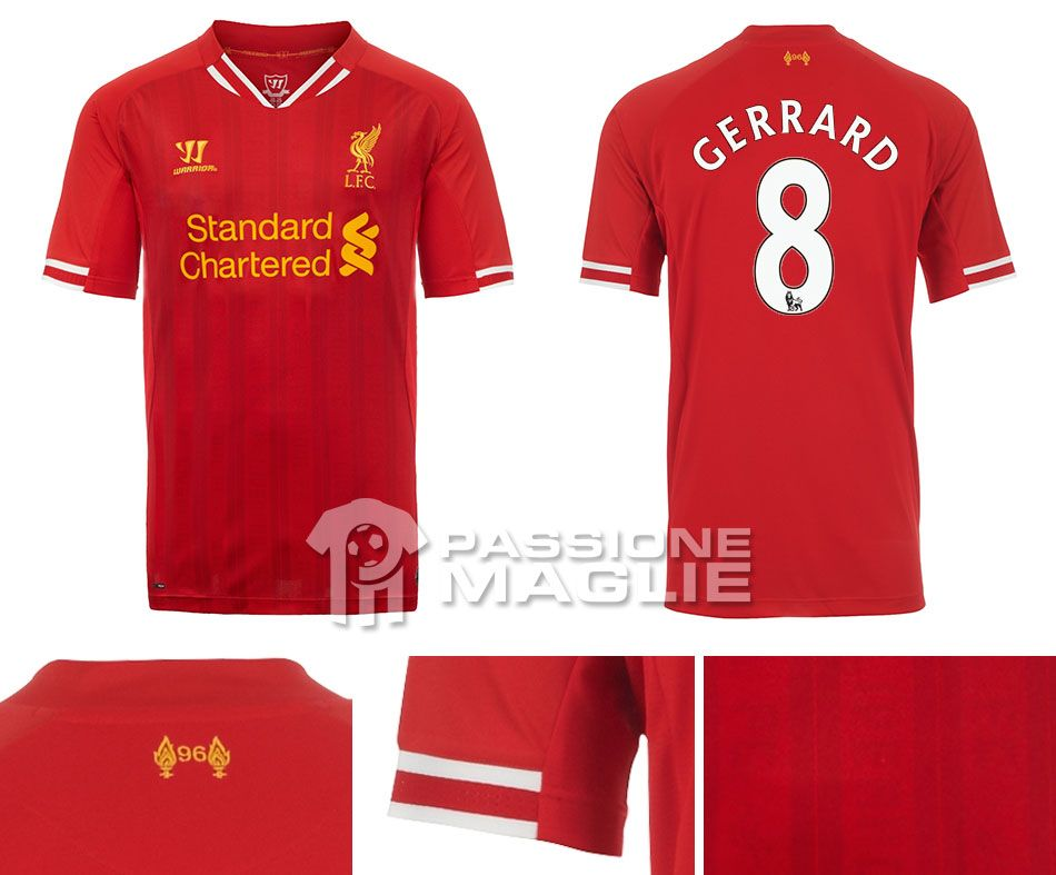 Maglie stagione 2013-2014 Liverpool-home-2013-14