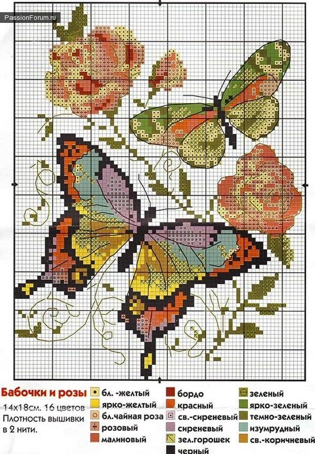 вышивка с бабочками Fca3cd0881_1000