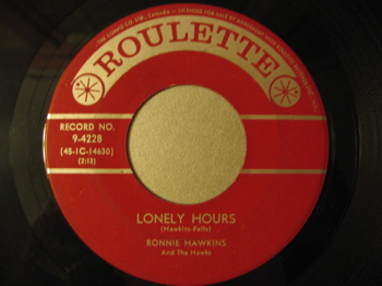 RONNIE HAWKINS Lonely