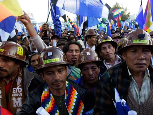 El comunismo retro, panfletario y fetichista. El sovieto-centrismo.  Movimiento-al-Socialismo-Bolivia