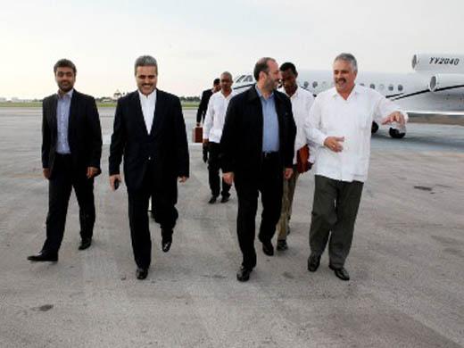 Noticias sobre las relaciones de Cuba con otros países. Ali-Saeidlo-lleg%C3%B3-a-Cuba