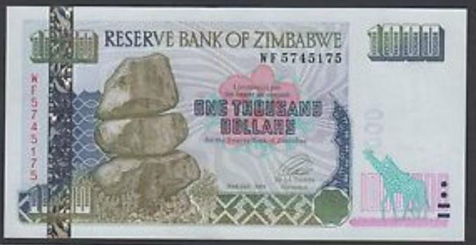 "Zimbabwe ""Bond Paper"" Notes Are Bonds? 1384898221"